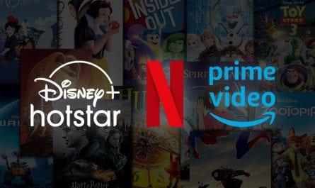 Netflix Disney Hotstar & prime videos all free