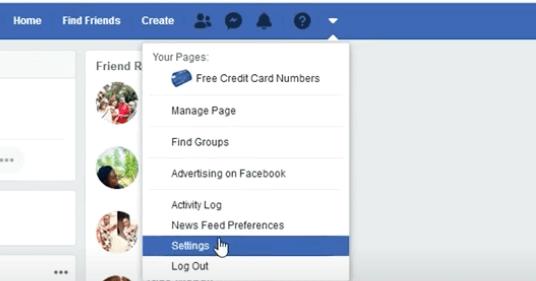 facebook id name change