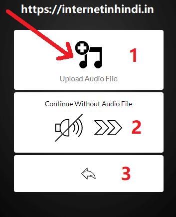 audio to video converter