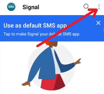 signal app me account kaise delete kare