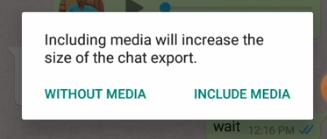 Whatsapp chat ko telegram me import kaise kare