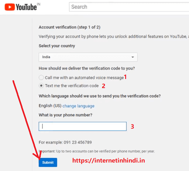 Verification in google