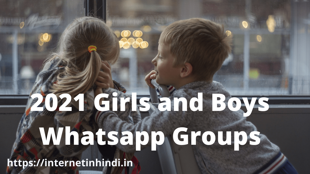 Girls and Boys Groups
