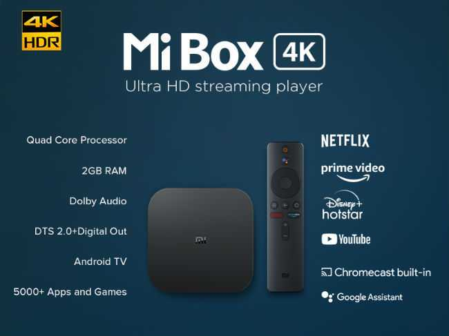 Mi 4K Smart TV Box